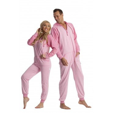 'Pink Bubble Gum Sport Utility Adult onesie Pajamas ** SUPER SALE ITEM **