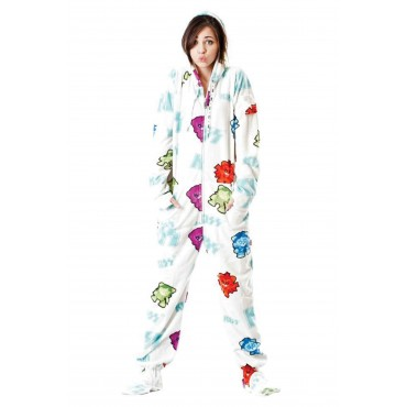 'KISS Shock Me Hooded Adult onesie Pajamas ** SUPER SALE ITEM **